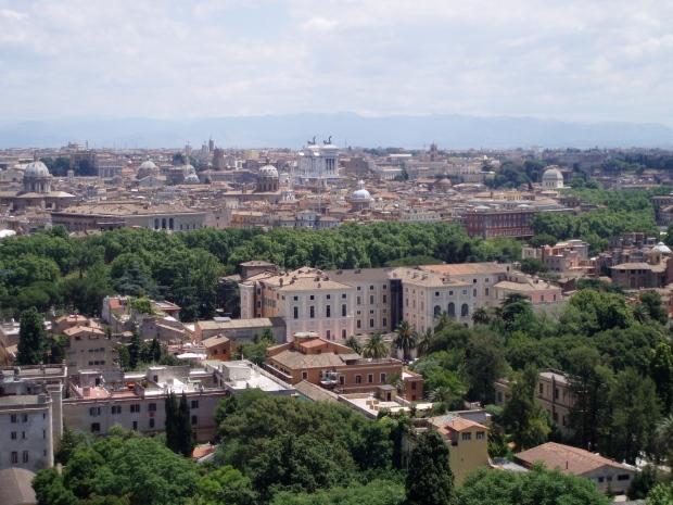 Kuva Villa Lantesta Rooman keskustaan 2006